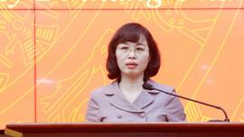 Bà Trịnh Thị Minh Thanh giữ chức Phó Bí thư Tỉnh ủy Quảng Ninh