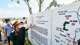 Sa hình Chiến dịch Điện Biên Phủ bằng cây xanh để tưởng nhớ Đại tướng Võ Nguyên Giáp