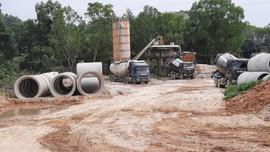 Công ty CP Bê tông Lạng Sơn ngang nhiên xây dựng Nhà máy sản xuất bê tông khi chưa được cấp phép