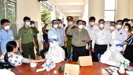 Thủ tướng Phạm Minh Chính thăm hỏi, động viên nhân dân Đồng Nai yên tâm, tích cực chống dịch