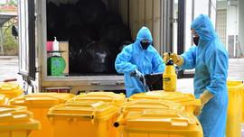 Bộ Y tế yêu cầu tăng cường quản lý chất thải trong phòng, chống dịch Covid-19