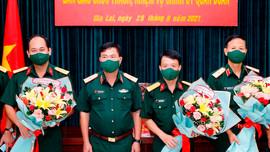 Thường vụ Quân ủy Trung ương, Bộ Quốc phòng điều động, bổ nhiệm nhân sự mới