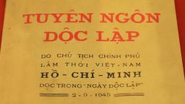 Tuyên ngôn Độc lập - Tinh thần, khát vọng và văn minh Việt