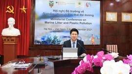 Khai mạc Hội nghị Bộ trưởng về ô nhiễm rác thải nhựa đại dương