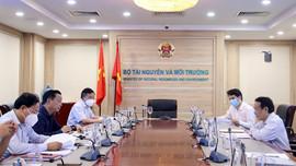 Bộ trưởng Trần Hồng Hà làm việc với Ban Kinh tế Trung ương về tổng kết Nghị quyết 19