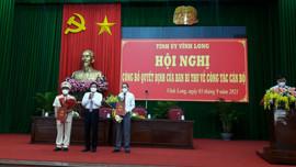 Vĩnh Long có thêm một Phó Bí thư Tỉnh ủy
