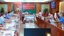 Thông cáo báo chí Kỳ họp thứ sáu của Ủy ban Kiểm tra Trung ương khóa XIII