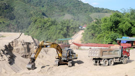 Lào Cai tăng cường thanh, kiểm tra để đảm bảo khai thác khoáng sản bền vững