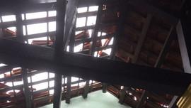 Thừa Thiên - Huế: Nhiều nhà dân tốc mái dù bão Conson chưa đổ bộ