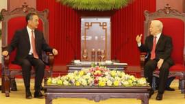 Tổng Bí thư Nguyễn Phú Trọng tiếp Ủy viên Quốc vụ, Bộ trưởng Bộ Ngoại giao Trung Quốc