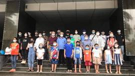 Thái Bình: Đưa 39 giáo viên, học sinh mắc kẹt tại Hà Nội do dịch bệnh về địa phương an toàn
