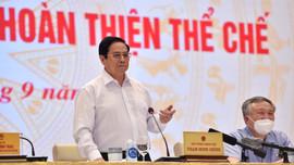 """Thủ tướng Phạm Minh Chính: Xây dựng và hoàn thiện thể chế để bảo đảm là """"đòn bẩy"""" kiến tạo phát triển"""