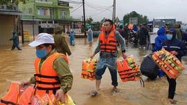Xuất cấp vật tư sẵn sàng ứng phó thiên tai và tìm kiếm cứu nạn