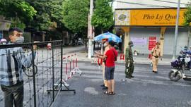 Hà Nam: Lập nhiều chốt kiểm soát tạm thời tại TP. Phủ Lý để phục vụ công tác xét nghiệm toàn dân