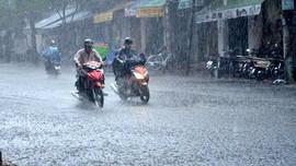 Thời tiết ngày 25/9: Nhiều khu vực cục bộ mưa vừa, mưa to