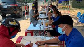 Quảng Nam: Người về từ vùng xanh của TP.Đà Nẵng tự theo dõi sức khỏe tại nhà