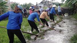 Nghệ An: Khắc phục hậu quả mưa lũ và vệ sinh môi trường