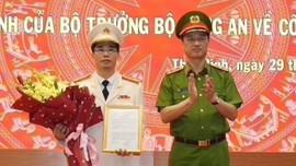 Thái Bình có tân Giám đốc Công an tỉnh