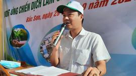 Lạng Sơn: Nhiều hoạt động hưởng ứng chiến dịch làm cho thế giới sạch hơn