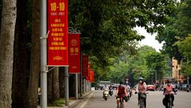 Hà Nội: Đường phố trang hoàng kỷ niệm ngày Giải phóng Thủ đô
