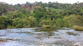 Kỳ vỹ dòng sông chảy ngược Sêrêpok
