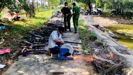 Krông Pa - Gia Lai: Tiêu hủy hàng trăm khẩu súng tự chế