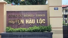 Thanh Hóa: Khởi tố Trưởng phòng Tài nguyên và Môi trường huyện Hậu Lộc