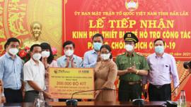 Đắk Lắk tiếp nhận hơn 200.000 bộ kit xét nghiệm nhanh