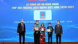 Đạm Phú Mỹ được vinh danh Top 100 Thương hiệu mạnh Việt Nam 2020 - 2021