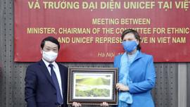 Unicef sẽ hỗ trợ thúc đẩy phát triển bền vững vùng DTTS và miền núi