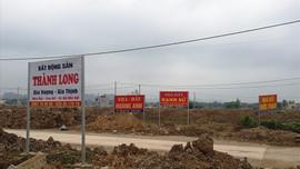 """Ninh Bình: Đấu giá đất để """"trả nợ"""" đầu tư xây dựng nông thôn mới"""