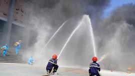 Quảng Trị thực tập phòng cháy chữa cháy, cứu nạn cứu hộ tại Khu cách ly tập trung