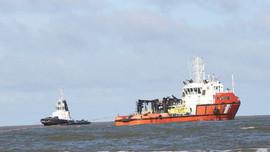 Lên phương án cứu hộ tàu vận tải nước ngoài mắc cạn tại vùng biển Quảng Trị