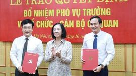 Công bố quyết định bổ nhiệm nhân sự Ban Tổ chức Trung ương