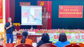 Cẩm Xuyên - Hà Tĩnh: Nâng cao kiến thức bảo vệ môi trường biển cho người dân