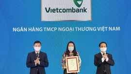 Vietcombank tiếp tục dẫn đầu bảng xếp hạng Top 10 ngân hàng thương mại uy tín năm 2021