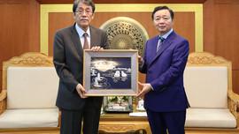 Bộ trưởng Trần Hồng Hà tiếp Đại sứ Hàn Quốc và Nhật Bản
