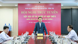 Bộ trưởng Trần Hồng Hà tiếp xúc cử tri trước Kỳ họp thứ 9