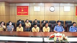 Đoàn Thanh niên Bộ TN&MT Chia sẻ khó khăn với người lao động