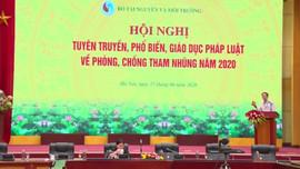 Hội nghị trực tuyến tuyên truyền về phòng, chống tham nhũng năm 2020