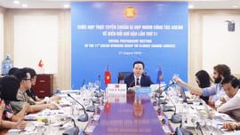 Chủ động xây dựng tuyên bố chung của ASEAN gửi Hội nghị COP26