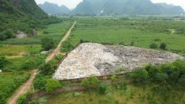 Ô nhiễm nghiêm trọng không thể xử lý tại Bãi rác huyện Yên Thủy