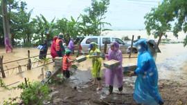 Cam Lộ (Quảng Trị): Lũ lớn nhấn chìm hơn 2000 nhà dân