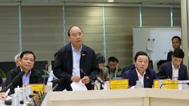 Thủ tướng Chính phủ Nguyễn Xuân Phúc: Sẵn sàng dồn lực ứng phó với bão số 9