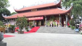 Lễ hội đền Đông Cuông làm tốt công tác bảo vệ môi trường