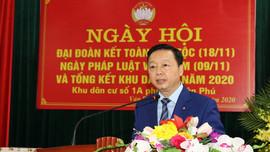 Bộ trưởng Trần Hồng Hà dự Ngày hội Đại Đoàn kết toàn dân tộc tại Phú Thọ