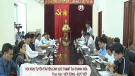 Hội nghị tuyên truyền lĩnh vực TN&MT tại Thanh Hóa