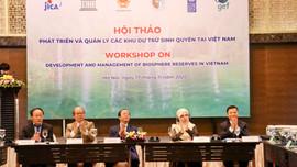 Phát triển và quản lý các khu dự trữ sinh quyển tại Việt Nam