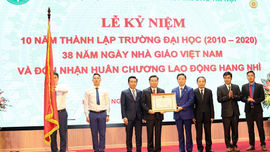 Trường Đại học TN&MT Hà Nội kỷ niệm 10 năm thành lập