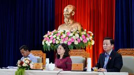 Bộ trưởng Bộ TN&MT Trần Hồng Hà tiếp xúc cử tri tại Bà Rịa -Vũng Tàu